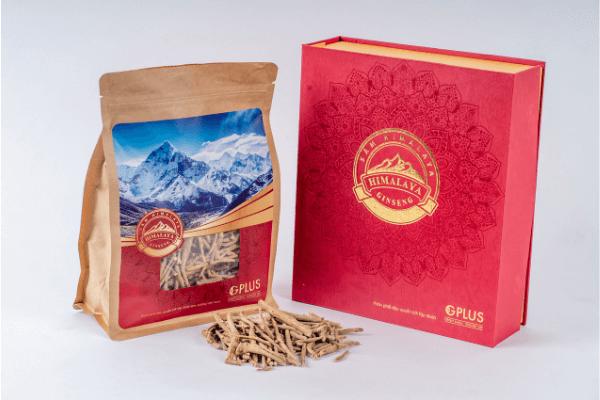 Sâm Ấn Độ Himalaya cho giỏ quà tết cao cấp